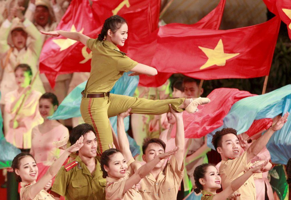 Obchody 70. rocznicy powstania policji we Wietnamie