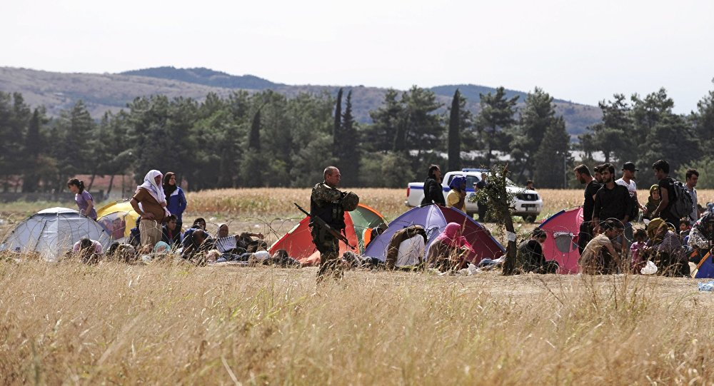 Specjalny oddział macedońskiej policji pilnuje granicy z Grecją przed nielegalnymi imigrantami