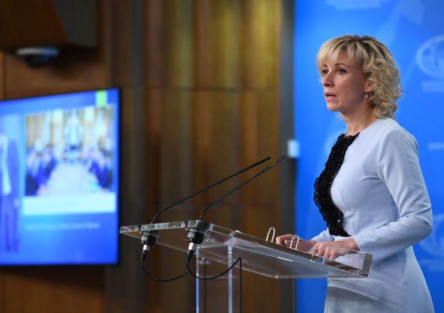 Rzeczniczka ministerstwa spraw zagranicznych Rosji Maria Zacharowa