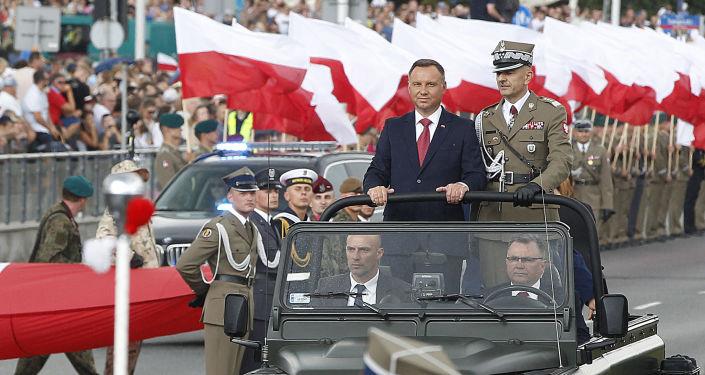 Prezydent Rzeczypospolitej Polskiej Andrzej Duda
