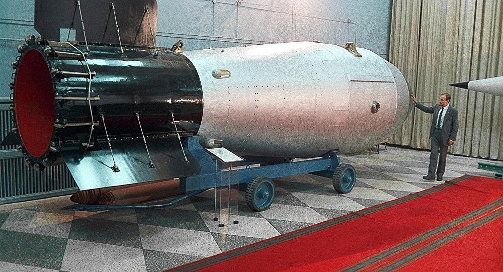 Bomba termojądrowa w rosyjskim muzeum