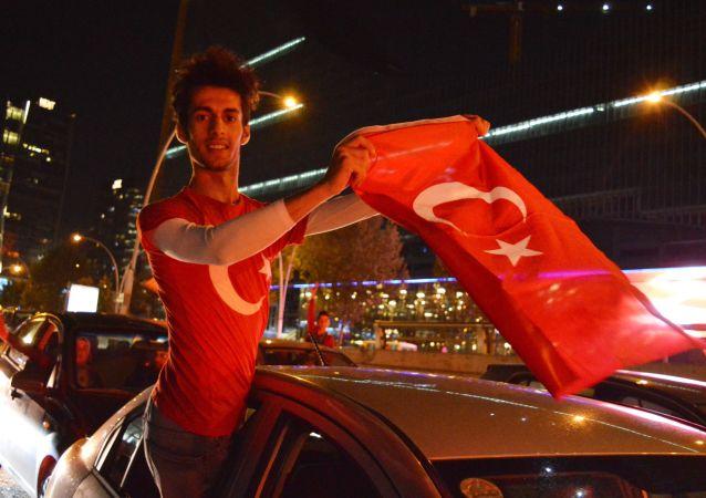 Zwolennik Erdogana