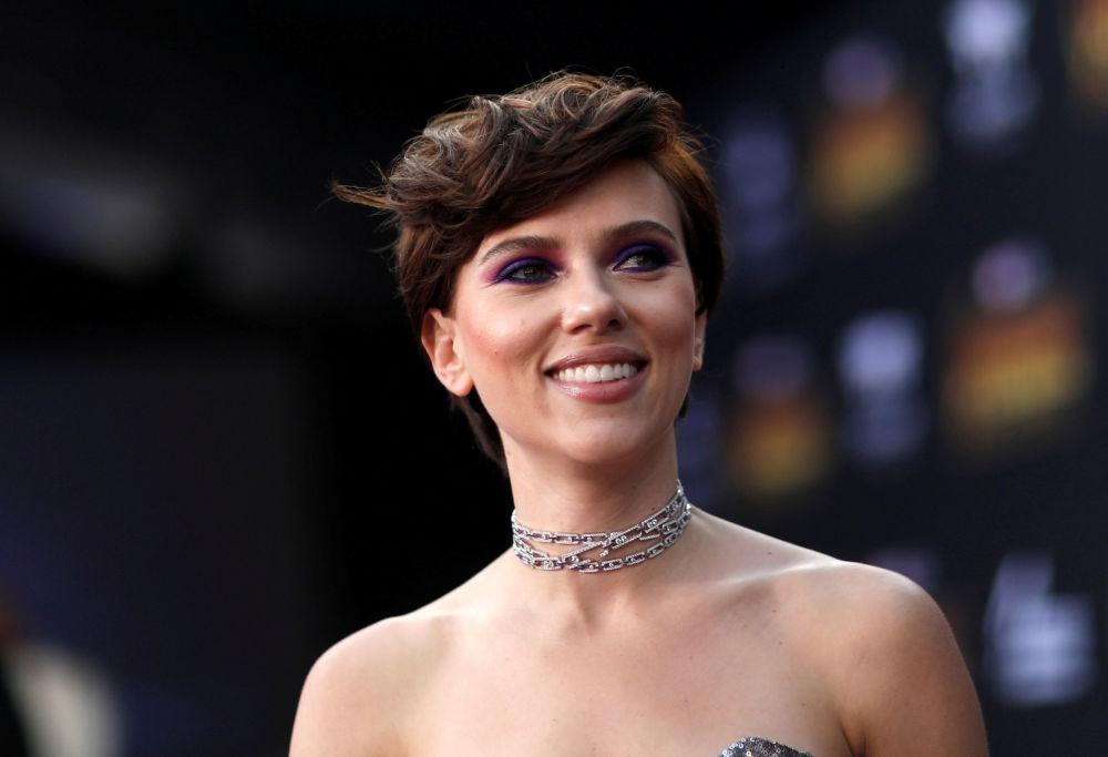 Amerykańska aktorka Scarlett Johansson w Los Angeles