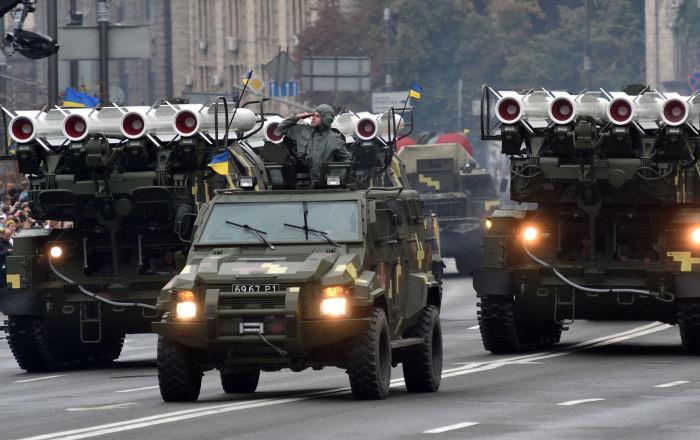 System przeciwrakietowy Buk, Ukraina