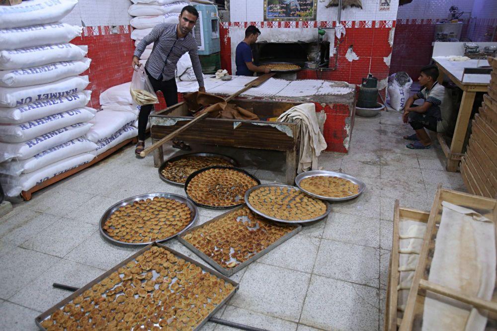 Przygotowania do Swięta Kurban Bajram w Bagdadzie