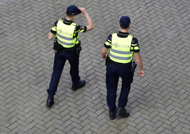Holenderscy policjanci