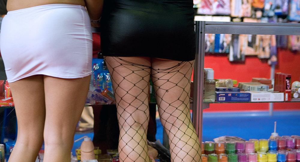 Kobiety w sex shopie