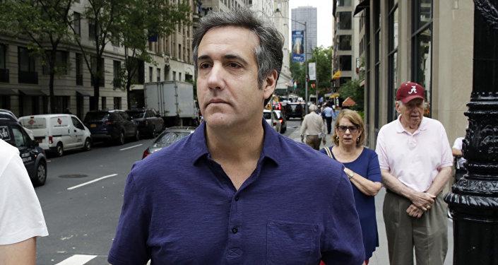 Były adwokat Trumpa Michael Cohen