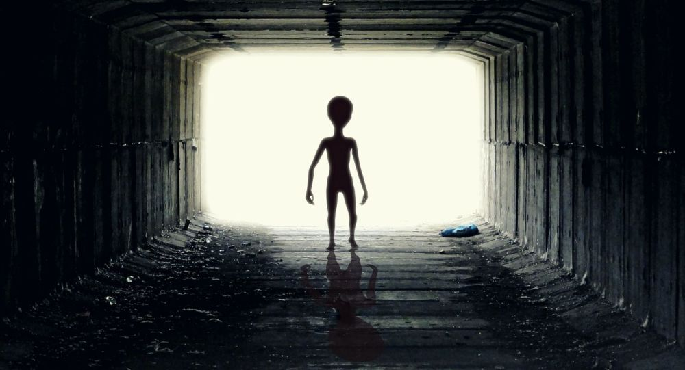 Przybysz w tunelu