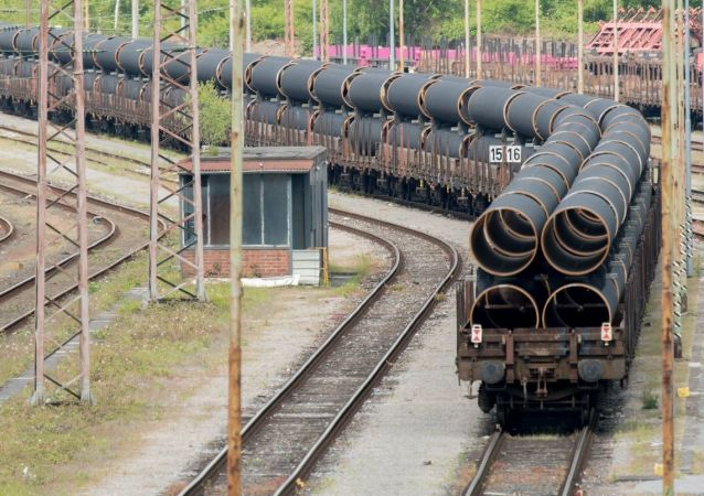 Rury do gazociągu Nord Stream 2