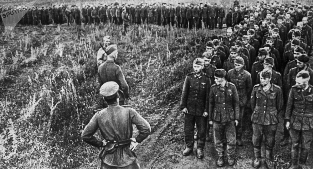 Niemieccy żołnierze i oficerowie pod Kurskiem (jeńcy wojenni), 1943 rok