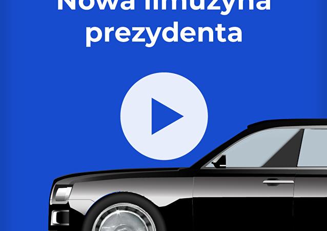 Nowa limuzyna rosyjskiego prezydenta