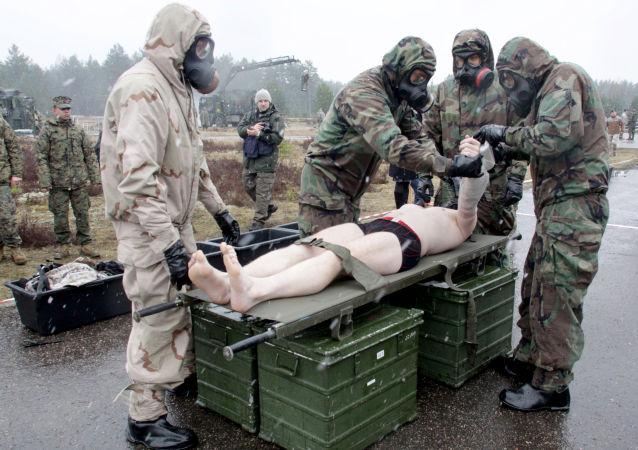 Szkolenia NATO na Łotwie