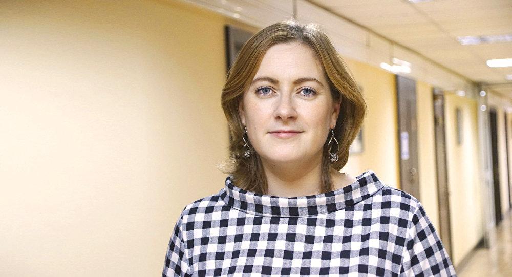 Ariadna Rokossowska, dziennikarka Rosyjskiej Gazety, Moskwa