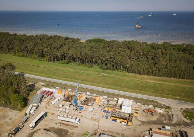 Budowa gazociągu Nord Stream 2 w Niemczech