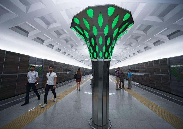 Otwarcie stacji Dubrawnaja w Kazaniu