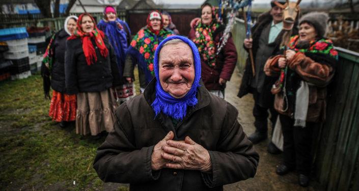 Mieszkańcy Bukczy na Białorusi