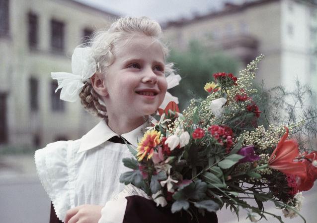 Pierwszoklasistka, 1965 r.