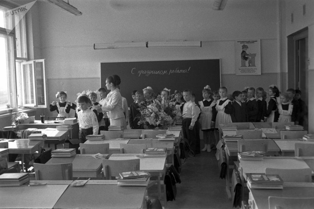 Pierwsza lekcja dla pierwszoklasistów, 1971 rok