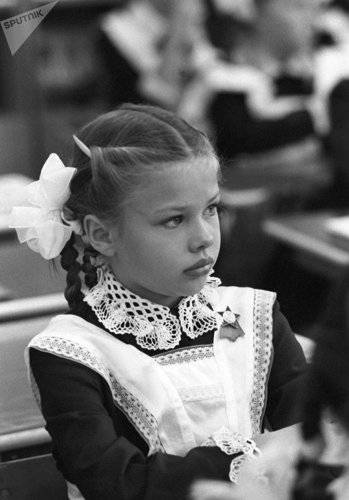 Uczennica, 1 września 1983 r.