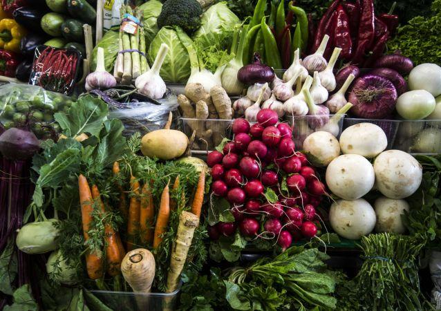 Warzywa na moskiewskim targu