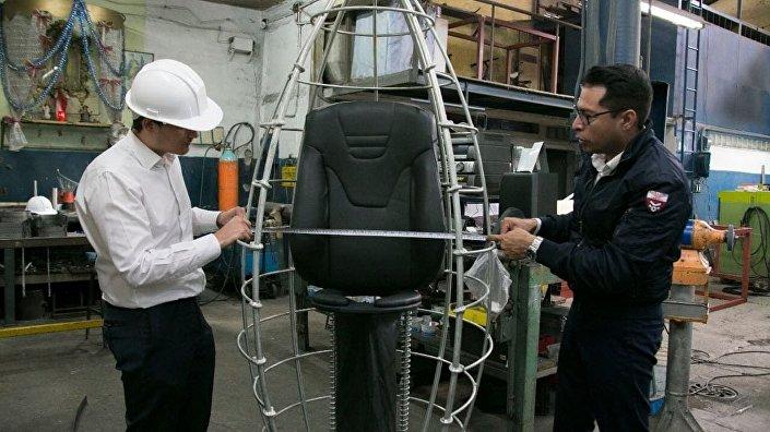 Produkcja kapsuły K107 w Meksyku