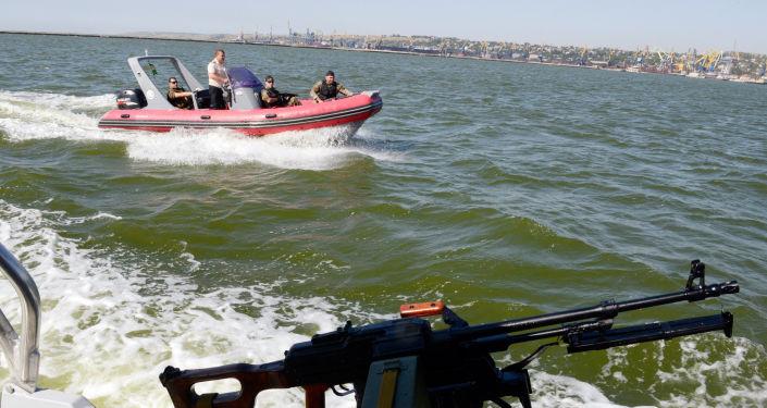 Straż przybrzeżna Ukrainy na Morzu Azowskim