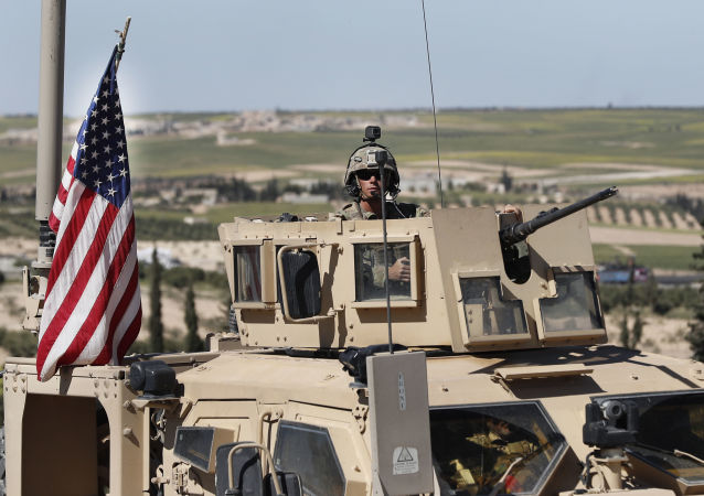 Amerykański żołnierz na północy Syrii