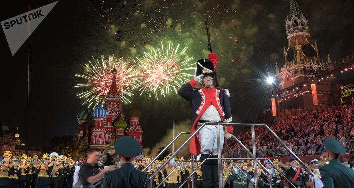 Ceremonia zamknięcia festiwalu Wieża Spasska 2018