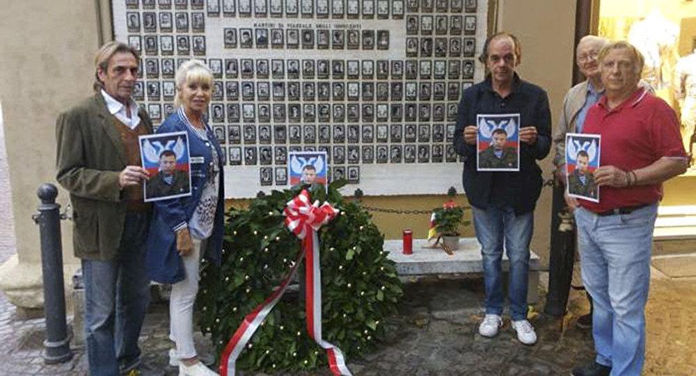 We Włoszech uczczono pamięć Aleksandra Zacharczenki