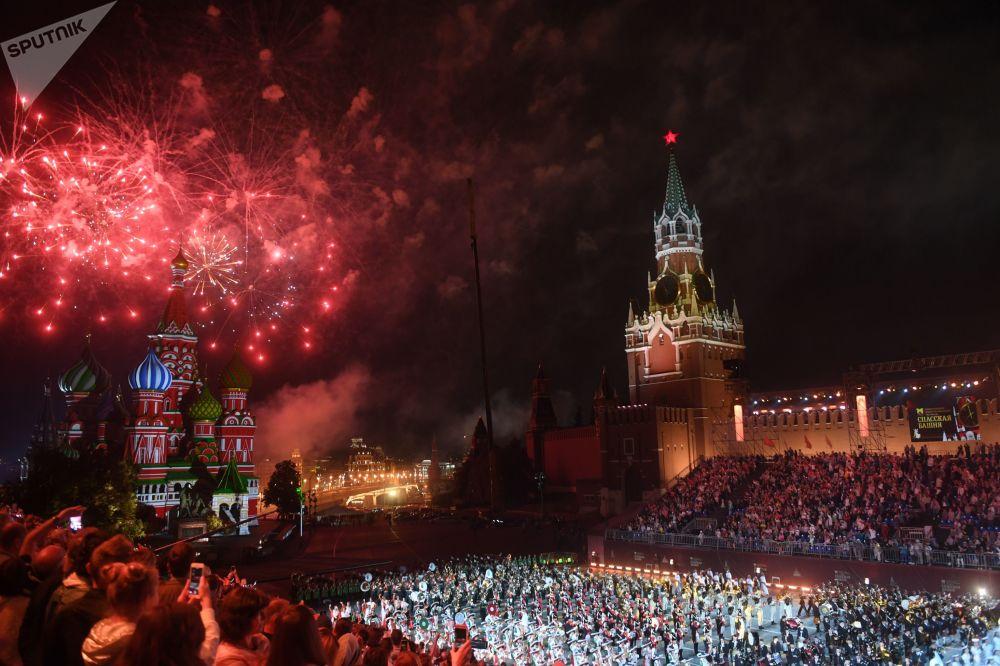"""W Moskwie zakończył się festiwal """"Wieża Spasska"""" 2018"""