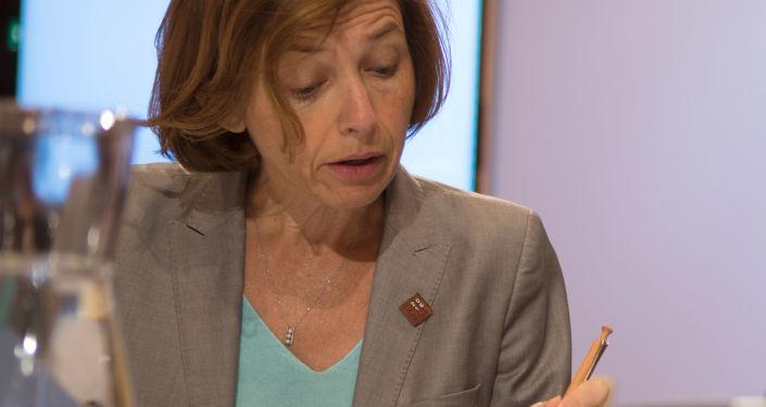 Minister obrony Francji Florence Parly