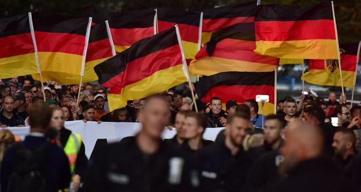 Protesty w Chemnitz