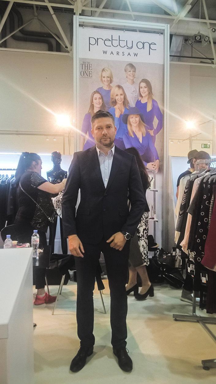 Krzysztof Kułakowski, dyrektor zarządzający polskiej firmy Pretty One