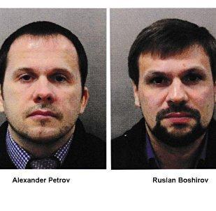 Podejrzani w sprawie rzekomego otrucia Skripalów w Salisbury Aleksander Pietrow i Rusłan Boszyrow