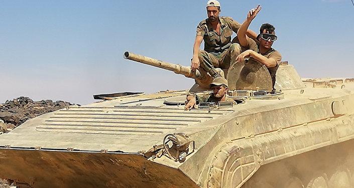 Syryjska armia szturmuje południe kraju