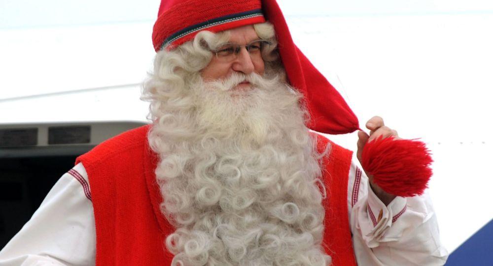 Fiński Santa Klaus w Joulupukki