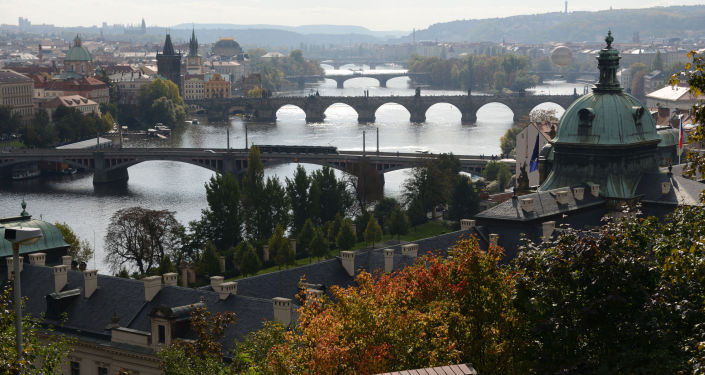 Widok na Pragę
