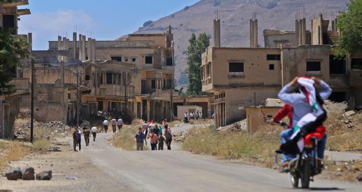 Miasto Al-Kunajtira w Syrii