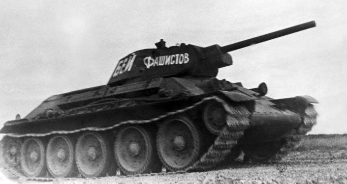 Radziecki średni czołg T-34-76