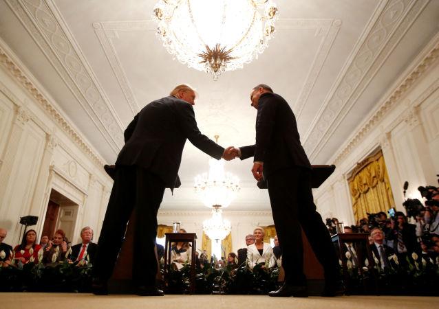 Andrzej Duda i Donald Trump, Biały Dom, 18 września 2018