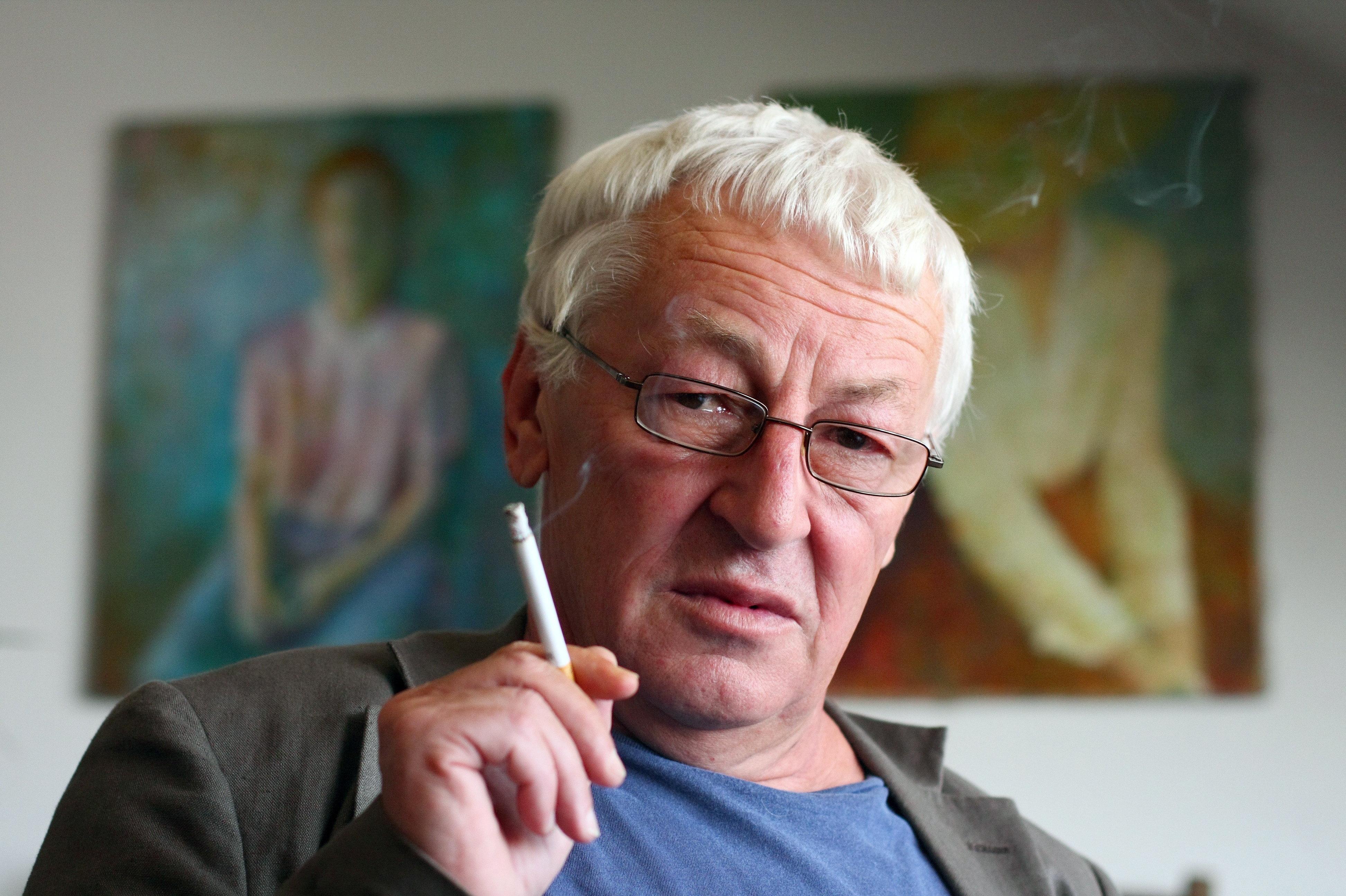 Prof. Ludwik Stomma, antropolog kultury, pisarz, publicysta.