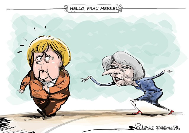 Hello, Frau Merkel