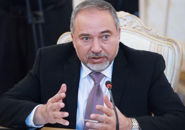 Minister obrony Izraela Awigdor Lieberman
