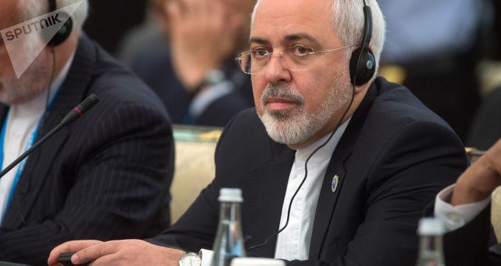 Minister spraw zagranicznych Islamskiej Republiki Iranu Mohammad Dżawad Zarif