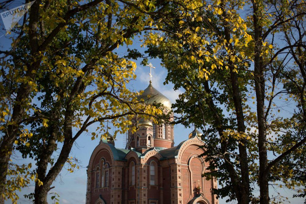 Świątynia św. Mikołaja w mieście Bieriezniki