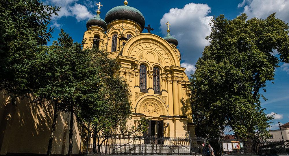 Cerkiew św. Marii Magdaleny.