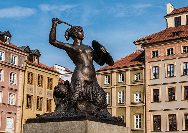Pomnik Syreny w Warszawie.