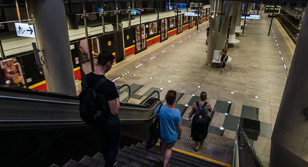 PKP Dworzec Centralny w Warszawie.