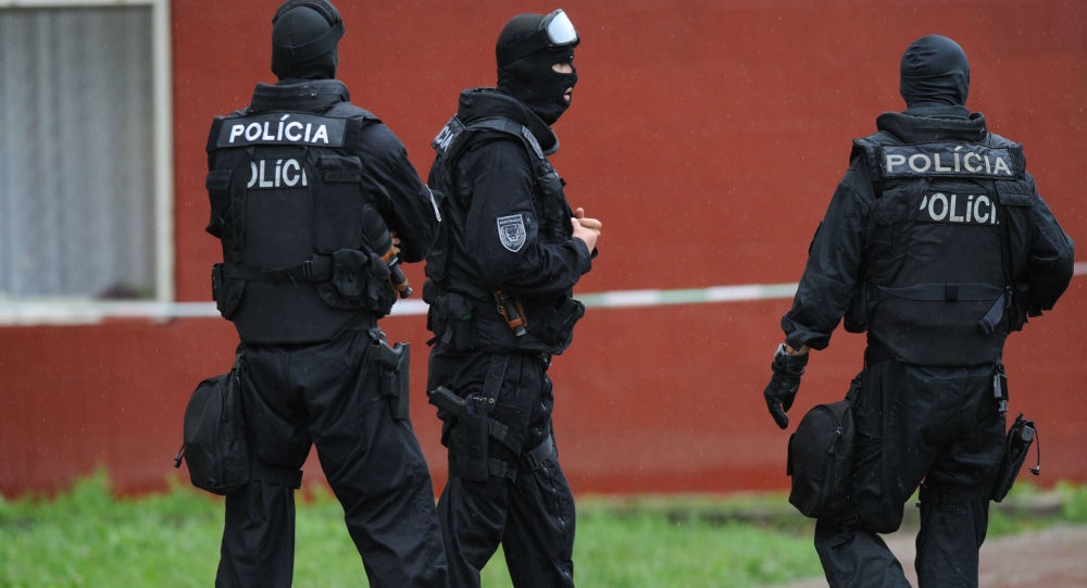 Słowacka policja